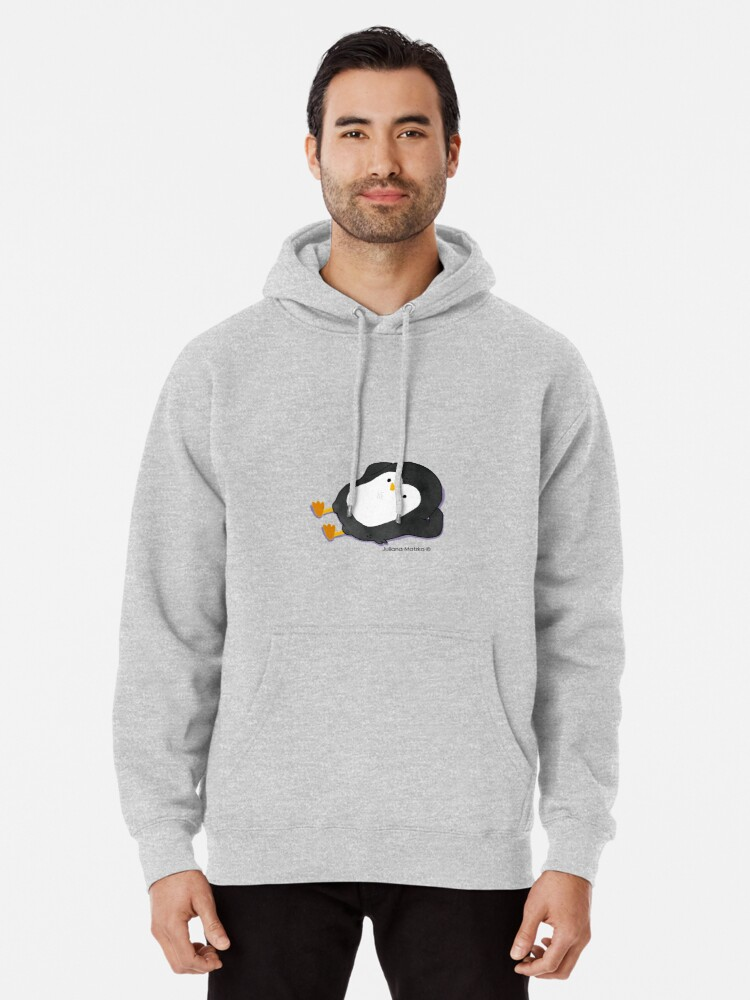 Alternate view of Penguin Laying Pullover Hoodie
