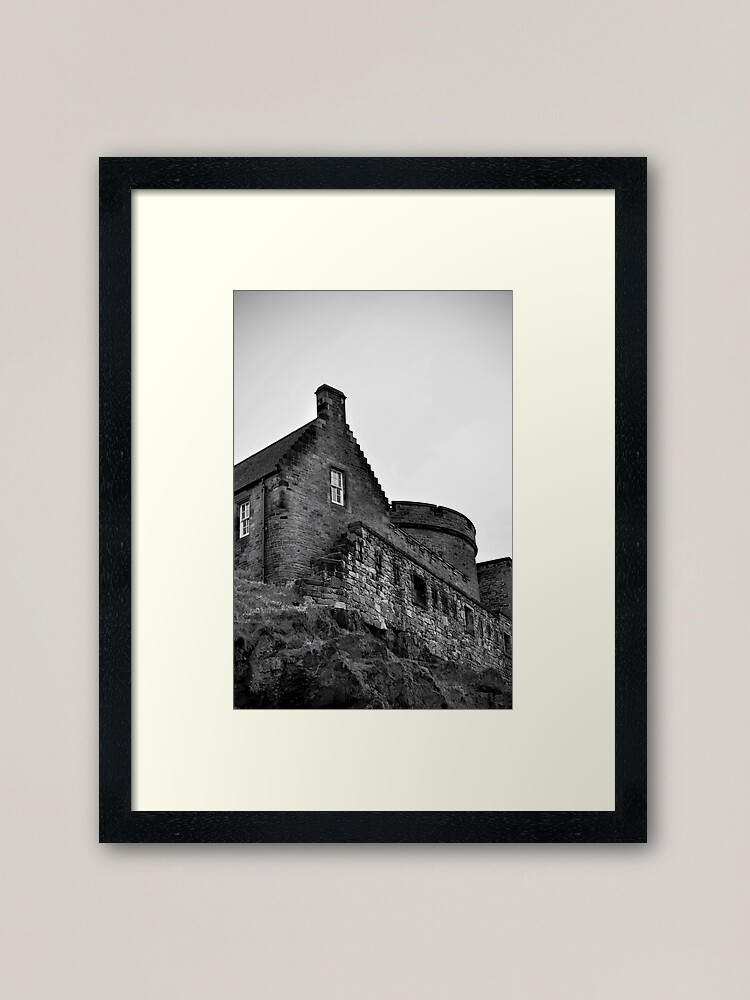 Alternate view of Edinburgh Castle Framed Art Print