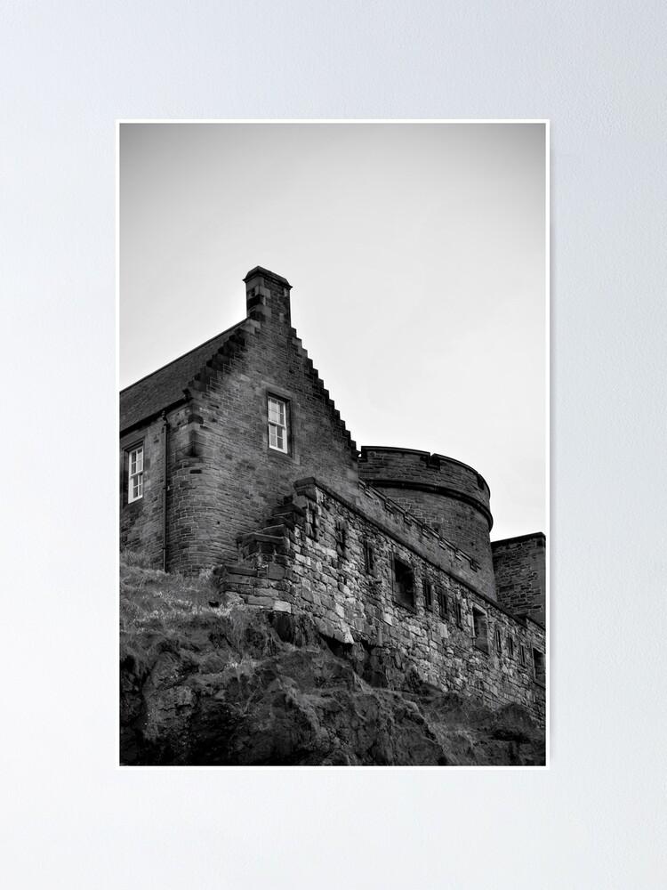 Alternate view of Edinburgh Castle Poster