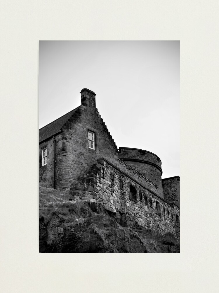 Alternate view of Edinburgh Castle Photographic Print