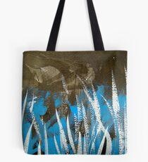 blue grass...dark peak Tote Bag