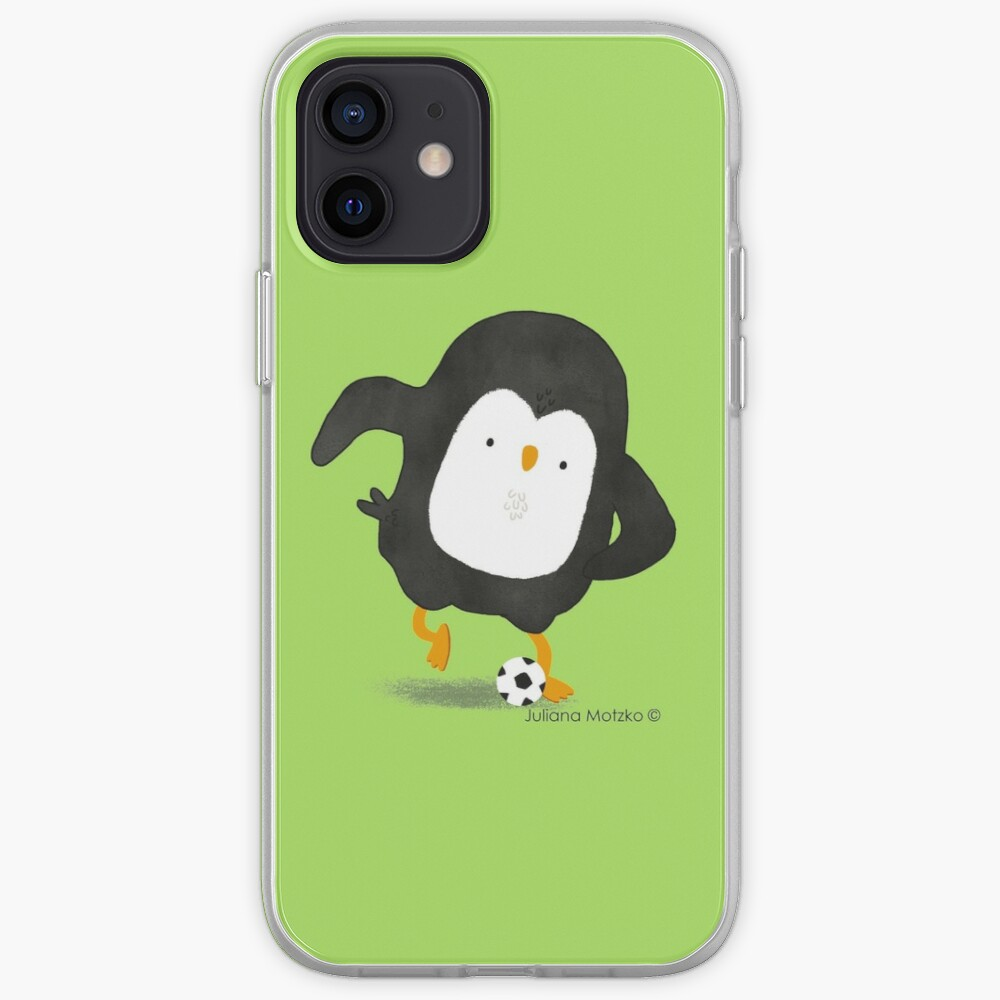 Football Penguin Player iPhone Case & Cover