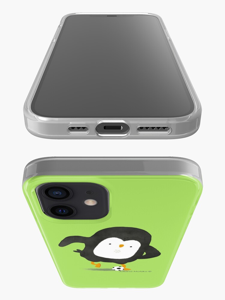 Alternate view of Football Penguin Player iPhone Case & Cover