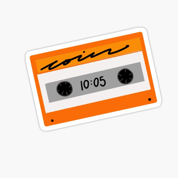 Coin cassette  Sticker