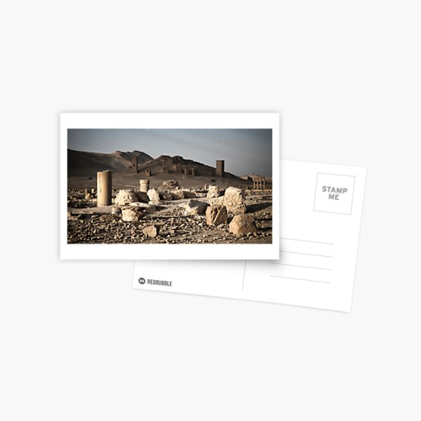 Temples and Ruins Postcard