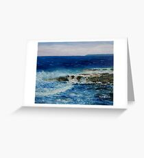 Salish Sea three Greeting Card