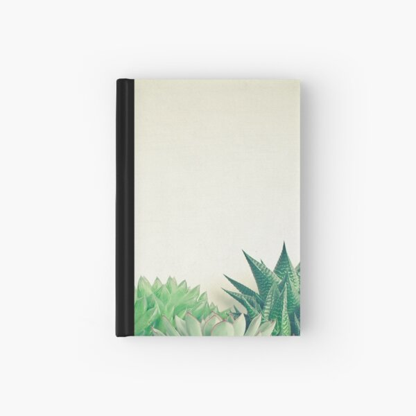 Succulent Forest Hardcover Journal