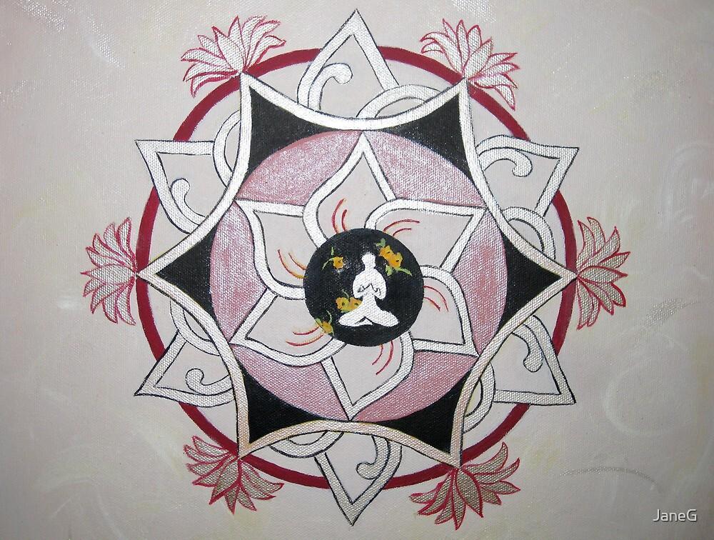 Yoga Meditation 3 by JaneG