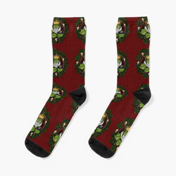 Christmas Goblin king Socks