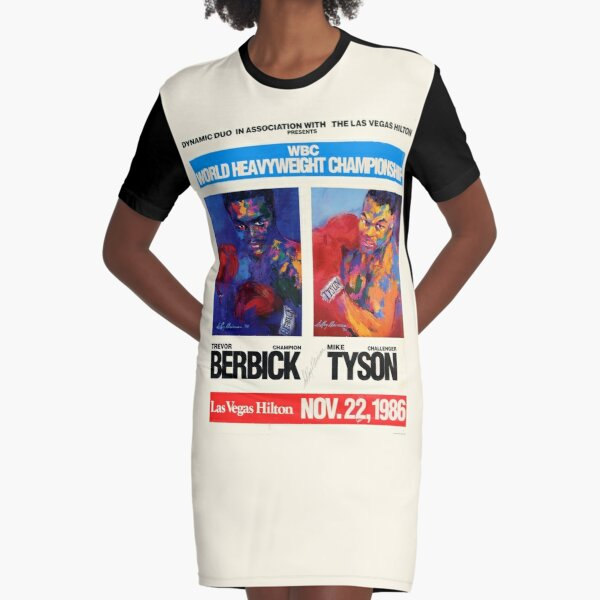 Boxing T-Shirt and more: Las Vegas Fight Night Graphic T-Shirt Dress