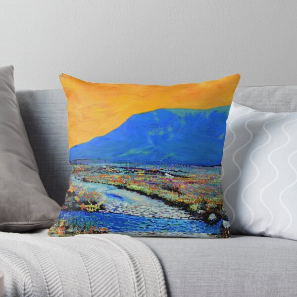 Ford at Muckish (County Donegal, Ireland) Throw Pillow
