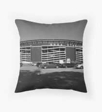 Shea Stadium - New York Mets Throw Pillow