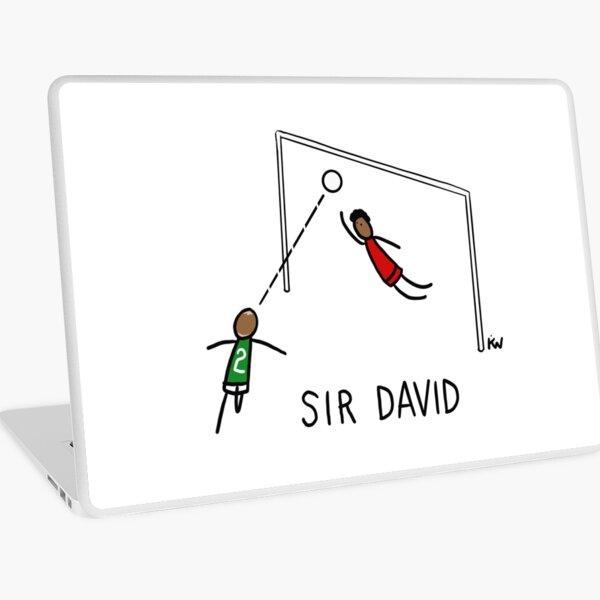 Sir David Gray wins the Scottish Cup Laptop Skin