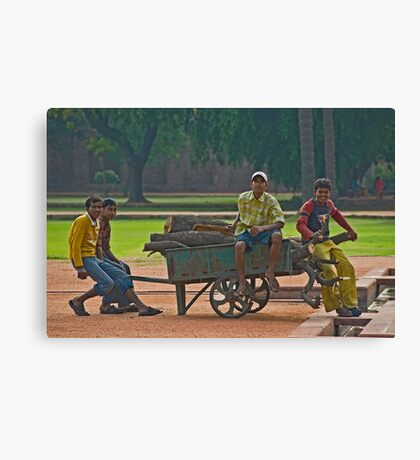 Youth Canvas Print