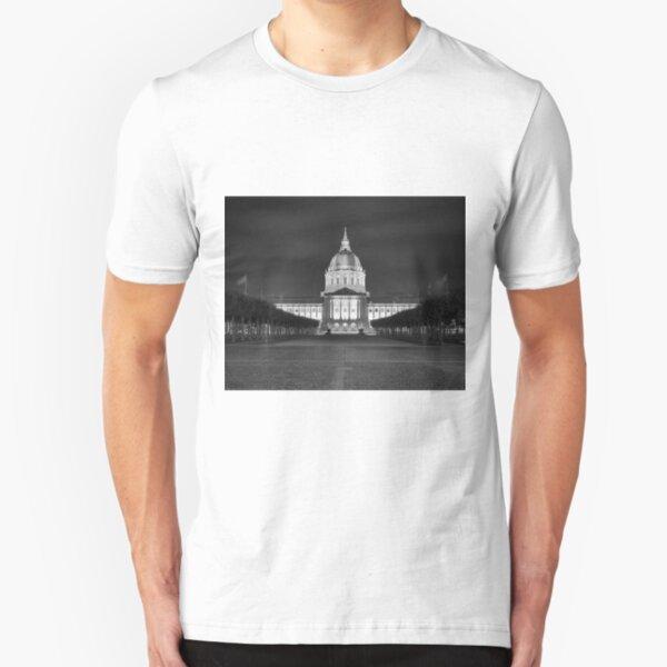 San Francisco City Hall Slim Fit T-Shirt