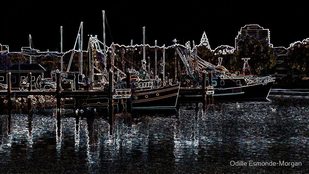 Glowing Trawlers by Odille Esmonde-Morgan