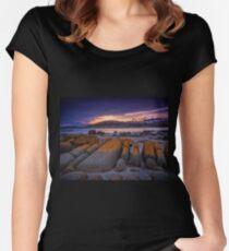 Orange Women's Fitted Scoop T-Shirt
