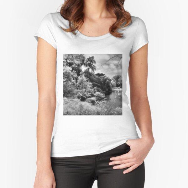Mallard Lake, Golden Gate Park, San Francisco Fitted Scoop T-Shirt