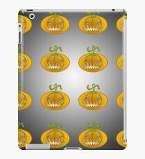 Scary jack o lantern. iPad Case/Skin