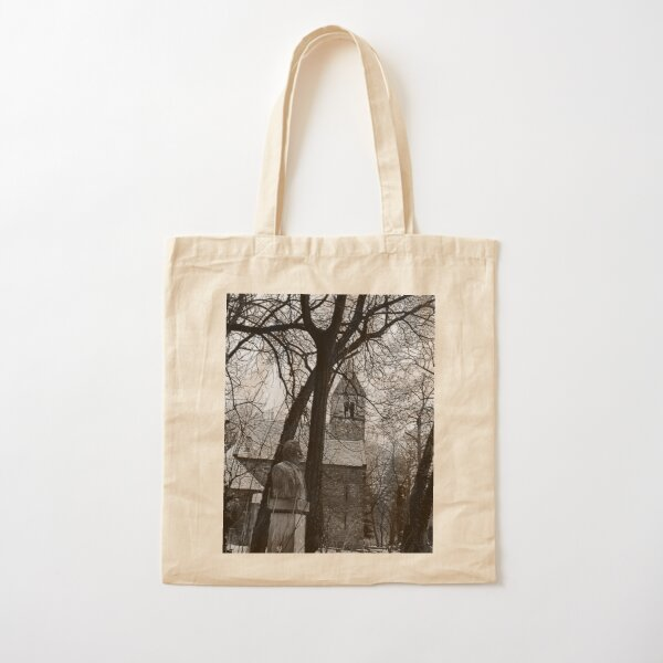 Medieval Premonstratensian chapel of St. Michael Cotton Tote Bag