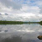 Lough Key Reflections by Martina Fagan