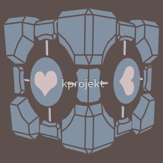 TShirtGifter presents: Companion Cube