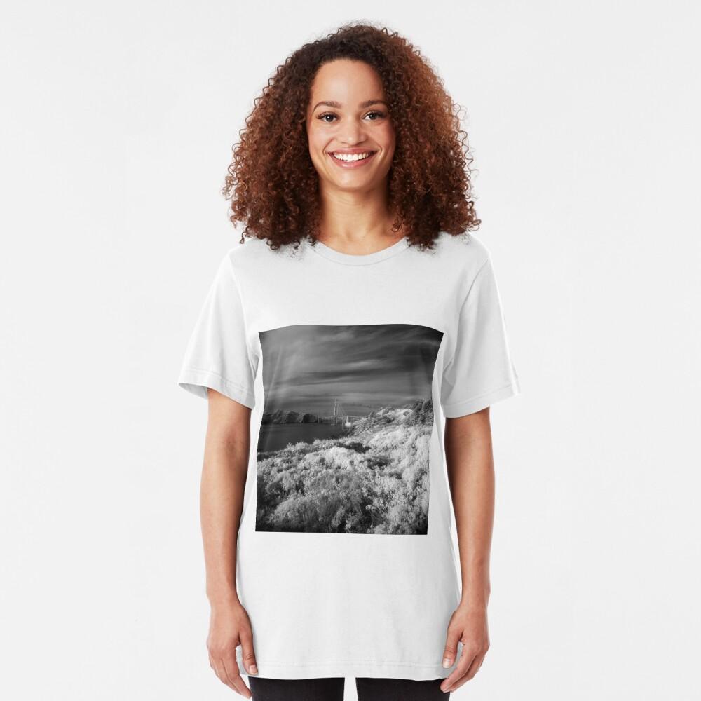 Battery Crosby, Presidio, San Francisco Slim Fit T-Shirt