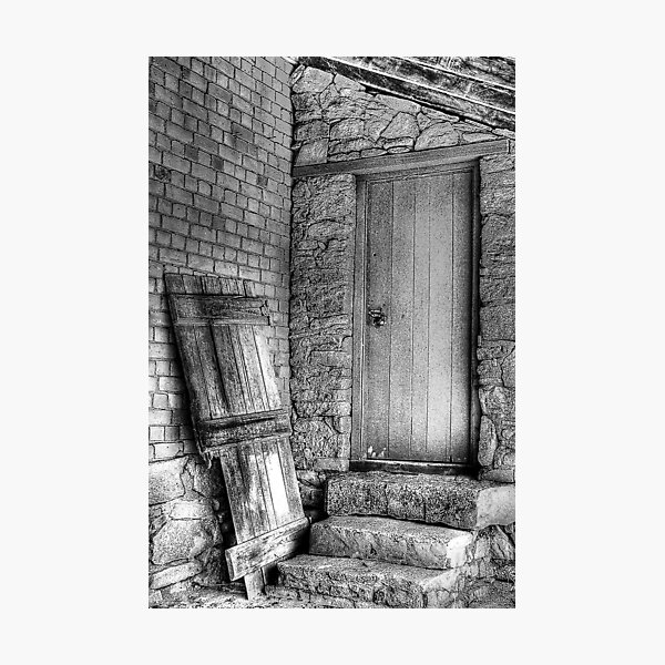 The Back Door Photographic Print