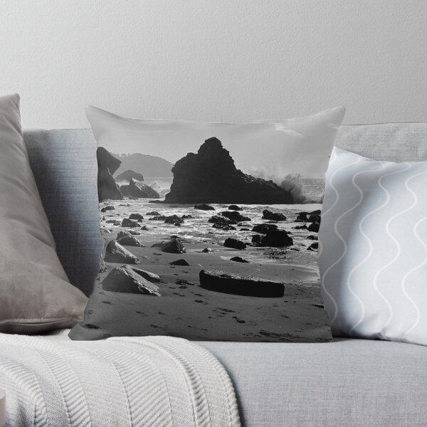 Marshall's Beach, San Francisco Throw Pillow