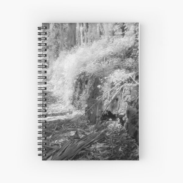 Old Stone Retaining Wall Spiral Notebook