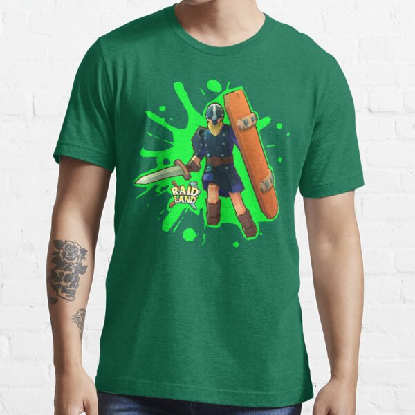 Raid.Land Warrior Green Essential T-Shirt