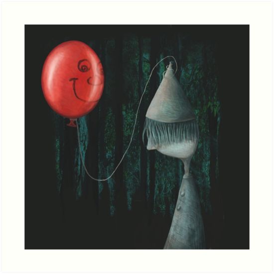 The Boy and the Balloon by fizzyjinks