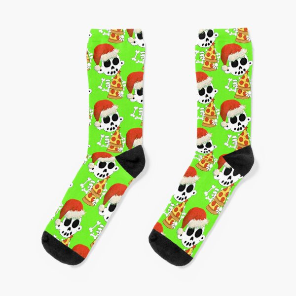 Merry Crustmas - Zanoskull Socks