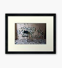 a Lucky Break Framed Print
