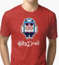 Katy Perry goes Google Android Style! Tri-blend T-Shirt
