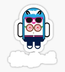 Katy Perry goes Google Android Style! Sticker