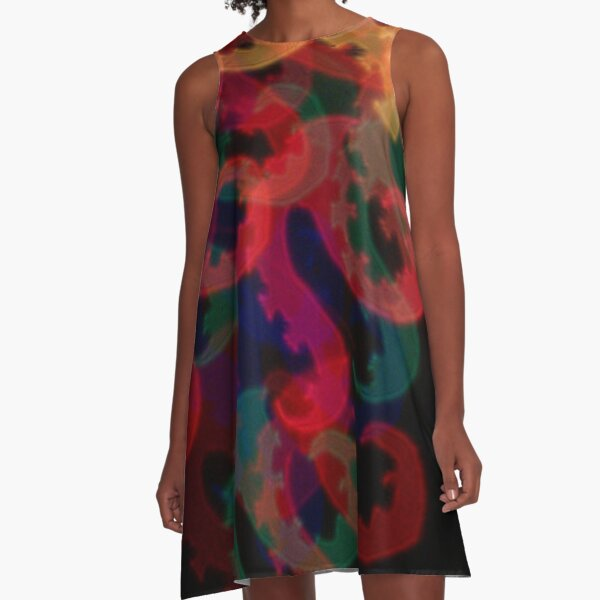 It Came From The Deep A-Line Dress