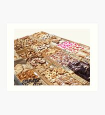 French market offers some goodies... Art Print