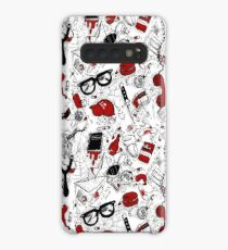Loser's Club Repeating Pattern  Case/Skin for Samsung Galaxy