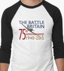 Battle of Britain poster white version Men's Baseball ¾ T-Shirt