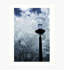 Infrared Lamp Art Print