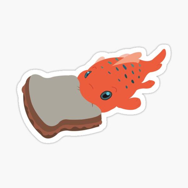 Pudge the Fish Sticker