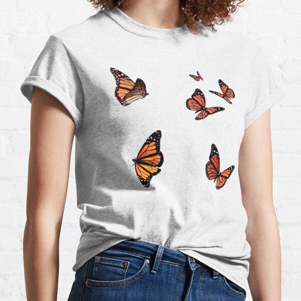 butterflies flying  Classic T-Shirt