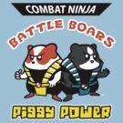 Combat Ninja Battle Boars by ninjaink