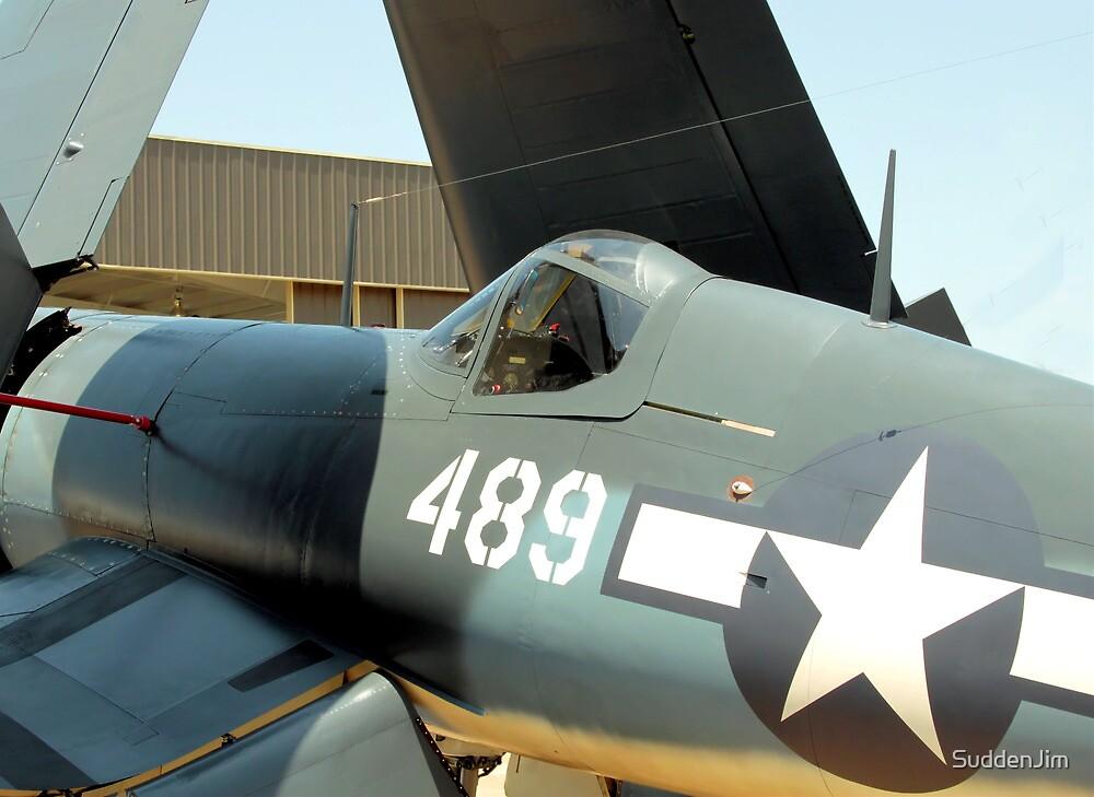 Vought F-4U Corsair, WWII by SuddenJim