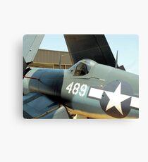 Vought F-4U Corsair, WWII Canvas Print