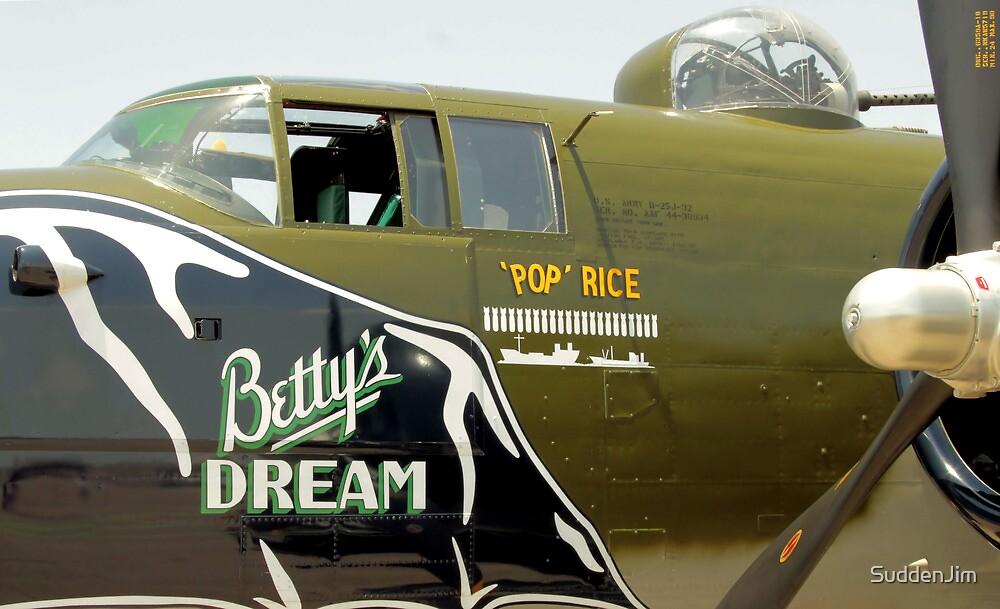 North American B-25 by SuddenJim