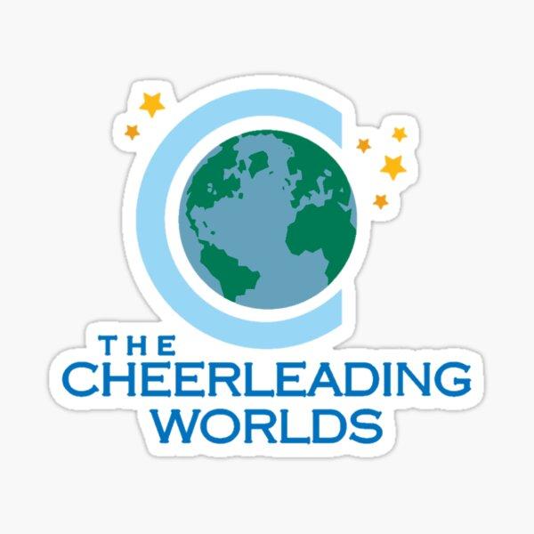 Cheerleading Worlds Sticker Sticker