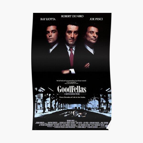 Goodfellas Poster  Poster
