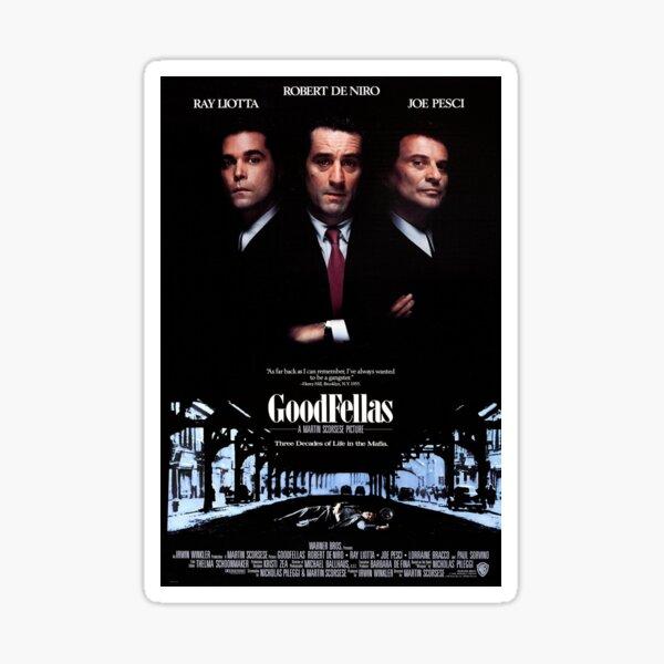 Goodfellas Poster  Sticker